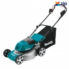 "Makita DLM464Z - 36V (18Vx2) 460mm 18"" Cordless Brushless Lawn Mower Skin Lawn Mowers"