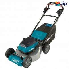 "Makita DLM532ZX -  36V (18Vx2) 534mm 21"" Cordless Brushless Steel Deck Self-Propelled Lawn Mower Skin Mowers"