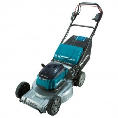 "Makita DLM533ZX -  36V (18Vx2) 534mm 21"" Cordless Brushless Aluminium Deck Self-Propelled Lawn Mower Skin Mowers"