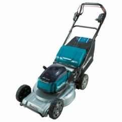 "Makita DLM537ZX -  36V (18Vx2) 534mm 21"" Cordless Brushless Aluminium Deck Self-Propelled Lawn Mower Skin Mowers"