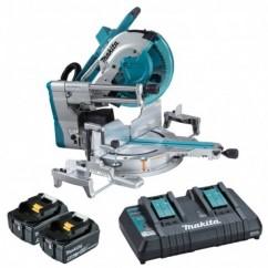 """Makita DLS211PT2 - 36V (18Vx2) Cordless Brushless AWS 305mm (12"""") Slide Compound Mitre Saw Kit Mitre Saws"""