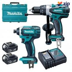 Makita DLX2005M - 18V 4.0Ah Cordless 2 Piece Combo Kit Combo Kits 18v