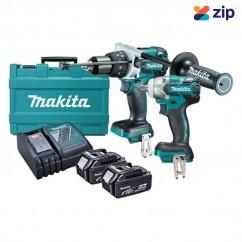 Makita DLX2064T - 18V Li-Ion 5.0Ah Cordless Brushless 2pce Combo Kit