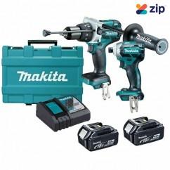 Makita DLX2092M - 18V 4.0Ah Cordless Brushless 2 Piece Combo Kit Combo Kits 18v