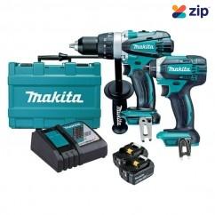 Makita DLX2145T - 18V 5.0Ah Cordless 2 Piece Combo Kit Combo Kits 18v