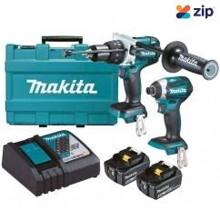 Makita DLX2176T - 18V 5.0Ah Cordless Brushless 2 Piece Combo Kit Combo Kits 18v