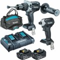Makita DLX2308BX1 - 18V Cordless Brushless 2 Piece Limited Edition Black Combo Kit Combo Kits 18v
