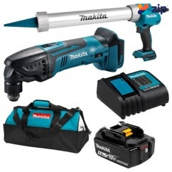 Makita DLX2352TX1 - 18V 5.0Ah LXT Li-ion Cordless Brushed 2 Piece Combo Kit