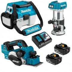 Makita DLX3135TX2 - 18V 5.0Ah Cordless Brushless 3 Pieces Combo Kit Combo Kits 18v