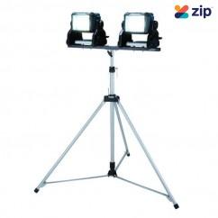 Makita DML811X2 - 18V Li-ion Cordless LED Work Light (2 x DML811) with GM00002073 Tripod Lights & Torches