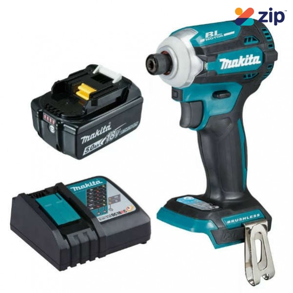 Makita DTD171RT - 18V 5.0Ah 4 Stage Cordless Brushless Impact Driver Kit
