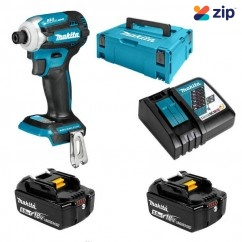 Makita DTD171RTJ - 18V 5.0Ah 4 Stage Cordless Brushless Impact Driver Kit