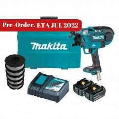 Makita DTR180RTX1 - 18V 5.0Ah Brushless Cordless Rebar Tying Tool Kit Rod/Rebar Cutters & Tools