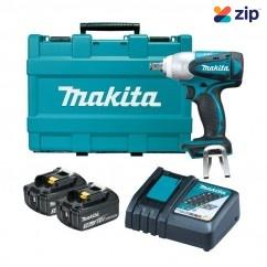 "Makita DTW251RFE - 18V 1/2"" Drive Cordless Impact Wrench Kit"