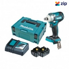 """Makita DTW300RTJ  - 18V 5.0Ah Cordless Brushless 1/2"""" Impact Wrench Kit Impact Wrenches"""
