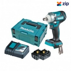 """Makita DTW301RTJ - 18V 1/2"""" Detent Pin Cordless Brushless Impact Wrench Kit Impact Wrenches"""