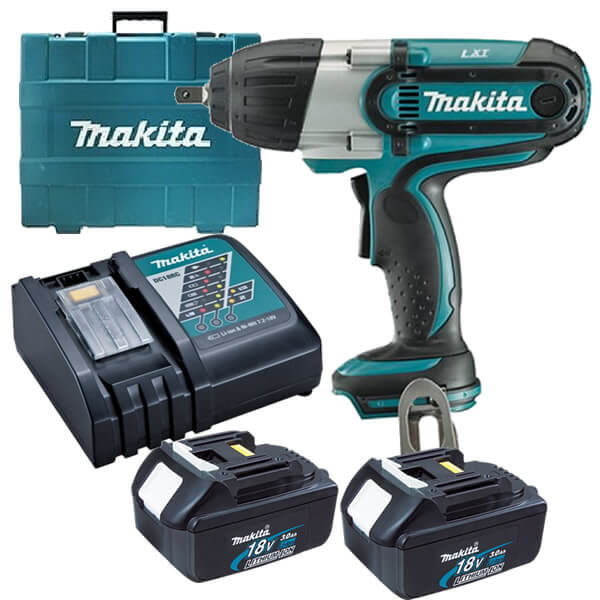 makita dtw450rfe 18v cordless impact wrench kit. Black Bedroom Furniture Sets. Home Design Ideas