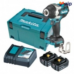 """Makita DTW701RTJ - 18V 1/2"""" Brushless Cordless Detent Pin Impact Wrench Kit Impact Wrenches"""