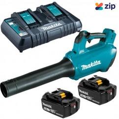 Makita DUB184PT2  - 18V 5.0Ah Cordless Brushless Blower Combo Kit