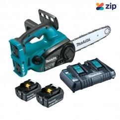 """Makita DUC302PT2 - 36V (18Vx2) 300mm (12"""") Chainsaw Kit Cordless Chainsaws"""