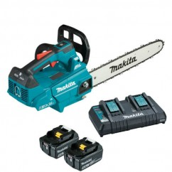 "Makita DUC306PT2 - 36V (18Vx2) 300mm (12"") Brushless Top Handle Chainsaw Kit"