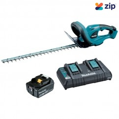 Makita DUH523PT - 18V 5.0Ah 520mm Cordless Hedge Trimmer Kit Hedge Trimmers