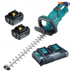 Makita DUH551PT2 - 36V (18V x 2) 5.0Ah 550mm Cordless Hedge Trimmer Kit Cordless Trimmer