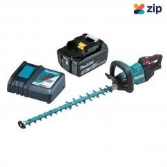 Makita DUH602RT - 18V 5.0Ah 600mm Brushless Cordless Hedge Trimmer Kit Hedge Trimmers