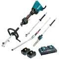 Makita DUX60PSHPT2 - 18Vx2 Brushless Cordless Multi-Function Power Head w/ Pole Saw & Hedge Trimmer Kit Hedge Trimmers