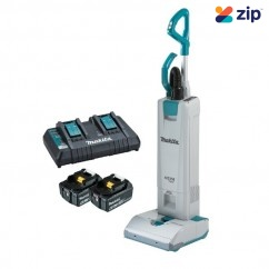 Makita DVC560PG2 - 36V (18V x 2) 6.0Ah Li-on Cordless Brushless Upright Vacuum Cleaner Kit Vacuums & Dust Extractors