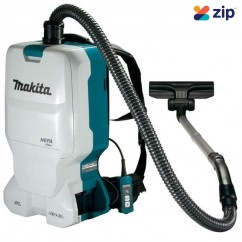 Makita DVC660ZX1 – 18Vx2 (36V) Cordless Brushless Backpack Vacuum Cleaner Skin Vacuums & Dust Extractors