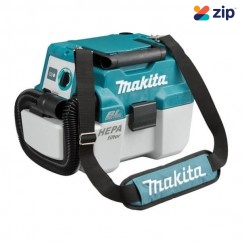 Makita DVC750LZX1 - 18V Cordless Brushless Wet/Dry Dust Extraction Vacuum Skin Vacuums
