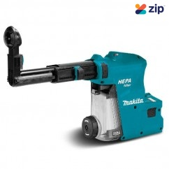 Makita DX09 - 18V HEPA Dust Extraction System Attachment to suit DHR283ZU Rotary Hammer 199583-6 Cordless Accessories