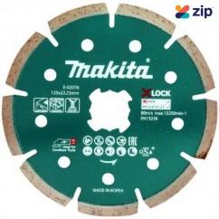 Makita E-02076 - X-Lock 125mm x 22.23mm Segmented Diamond Blade Makita Accessories