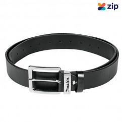 Makita E-05359 Black Leather Belt Medium Belts