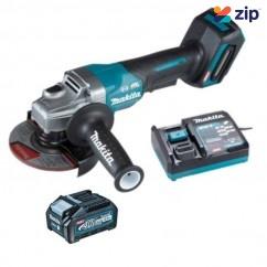 Makita GA013GM104 - 40V 125mm Brushless Cordless Paddle Switch Angle Grinder Kit  Cordless Tool Kits & Skins