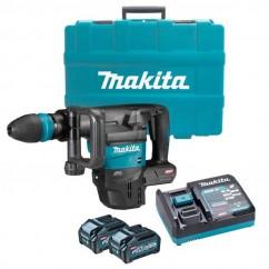 Makita HM001GM202 - 40V Max XGT 4.0Ah Cordless Brushless SDS Max Demolition Hammer Kit Rotary Hammer Drills