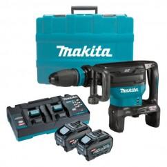 Makita HM002GT201 - 80V Max (40Vx2) XGT 5.0Ah Cordless Brushless SDS Max Demolition Hammer Kit Rotary Hammer Drills