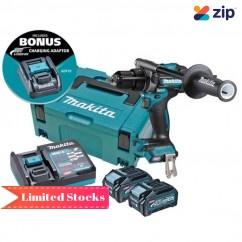 Makita HP001GM203 - 40V Max Cordless Brushless Hammer Driver Drill Kit Drill Drivers