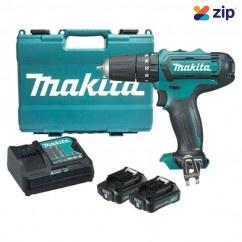 Makita HP331DSAE - 12V 2.0Ah Max Cordless Hammer Driver Drill Kit