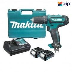 Makita HP331DWYE - 12V 1.5Ah MAX Cordless Hammer Driver Drill Kit Cordless Drills