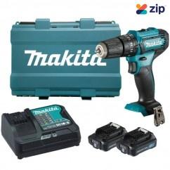 Makita HP333DSAE - 12V 2.0Ah Max Cordless Hammer Driver Drill Kit