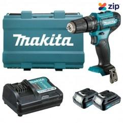 Makita HP333DWYE - 12V 1.5Ah Max Cordless Hammer Driver Drill Kit