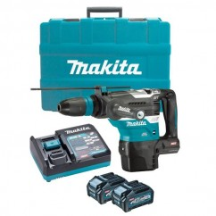 Makita HR005GM201 - 40V Max XGT 4.0Ah 40mm Cordless Brushless SDS Max Rotary Hammer Kit Rotary Hammer Drills