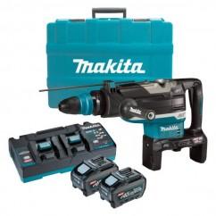 Makita HR006GT201 - 80V Max (40Vx2) XGT 5.0Ah 52mm Cordless Brushless SDS Max Rotary Hammer Kit Rotary Hammer Drills
