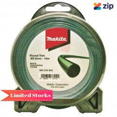 Makita 369.224.600 - 2mm X 15m Round Trim Nylon Line Makita Accessories