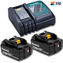 Makita DC18RC+2X4AH - 18V Rapid Charger and 2x 4.0ah Battery Kit B-90196 Batteries & Chargers
