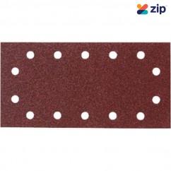 Makita P-33065 - 115 x 280mm 1/2 Sheet Hook & Loop Sand Paper (Pack of 10) Sanding Discs, Papers & Wheels
