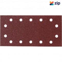 Makita P-33071 - 115 x 280mm Hook & Loop 1/2 Sheet Sand Paper (Pack of 10) Sanding Discs, Papers & Wheels