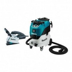 """Makita SG1251J-VC42M - 1400W 125mm (5"""") Wall Chaser & 1200W 42L M-Class Wet & Dry Vacuum Cleaner Dust Extractor Combo Kit Vacuums & Dust Extractors"""